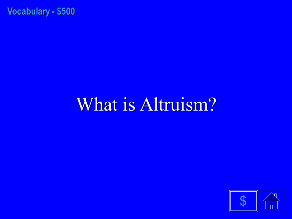 Vocabulary - $400 What is a Social Trap $