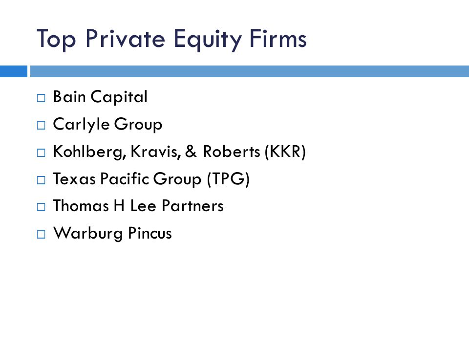 bain private equity