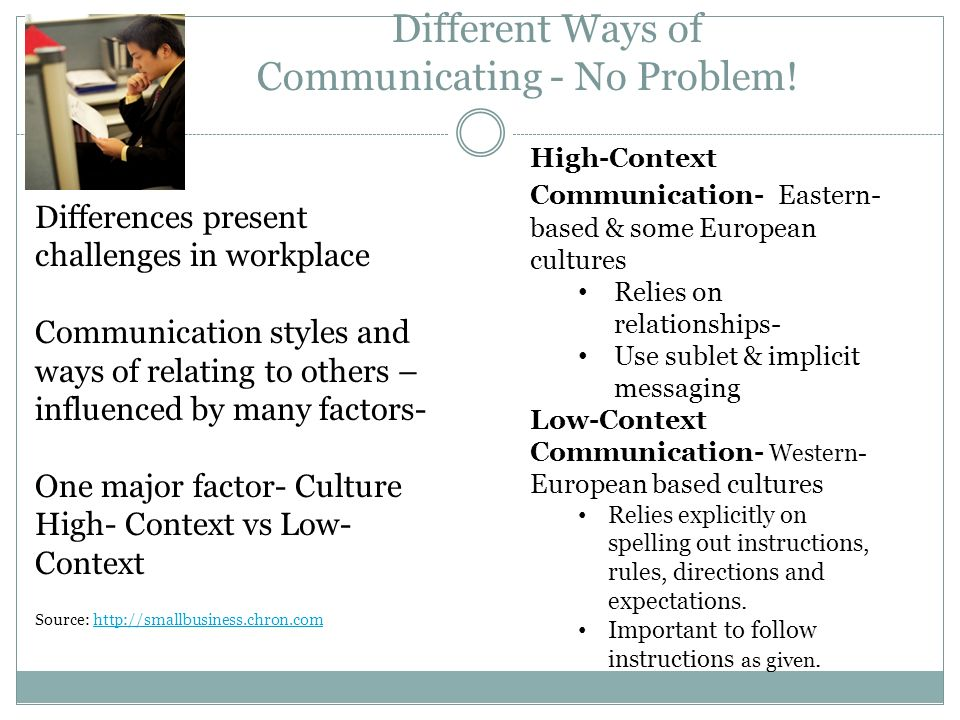 ways of communication Communication methods - learn project management concepts using simple and precise free downloadable tutorials prepare for pmi certification and become an.