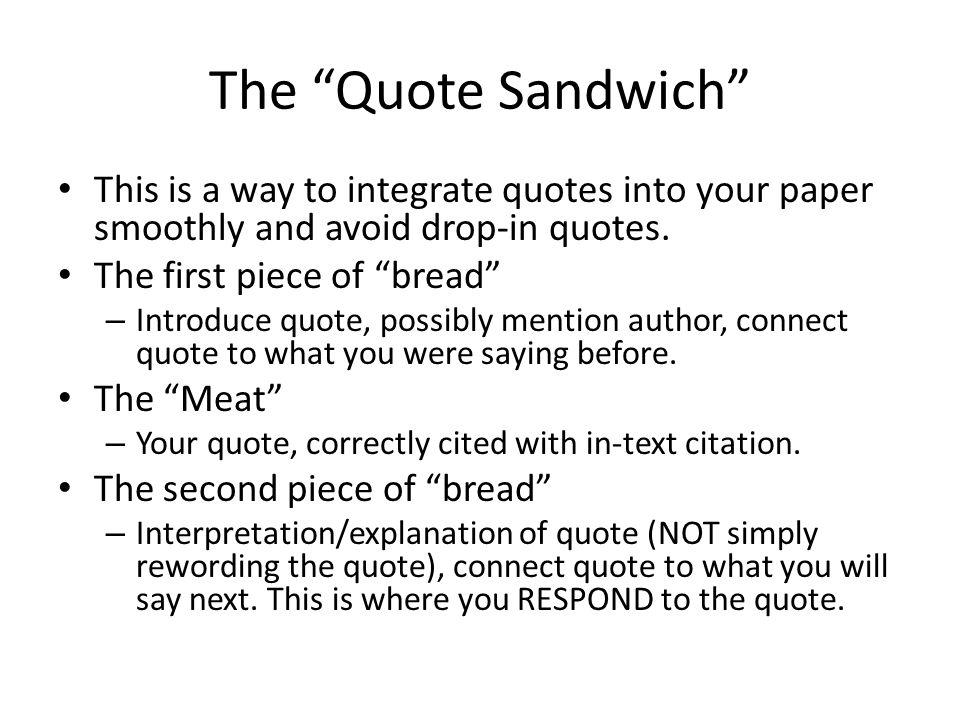 quote essay 15