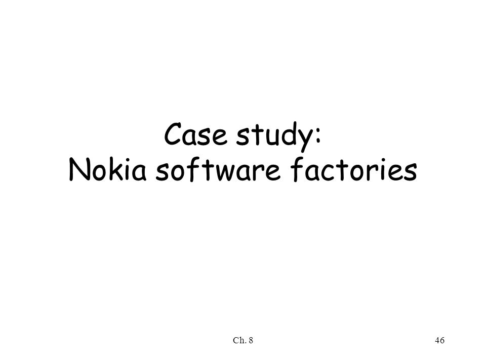 case study of nokia change What organisations have to face when they bring an organisational change nokia is used as an example.