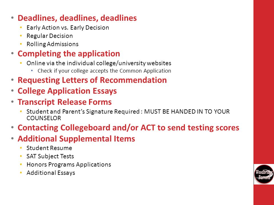 Common Application Letters Of Recommendation Deadline Research Paper