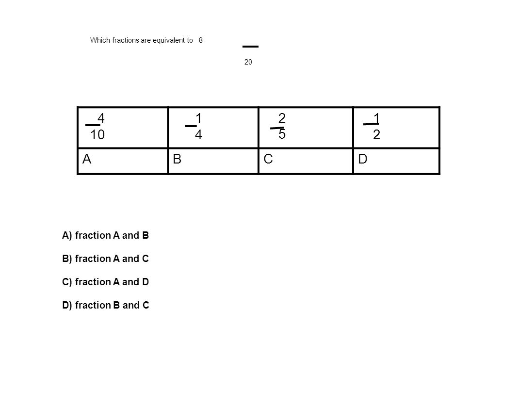 Review for EQUIVALENT, SIMPLEST FORM and COMPARING FRACTION TEST ...