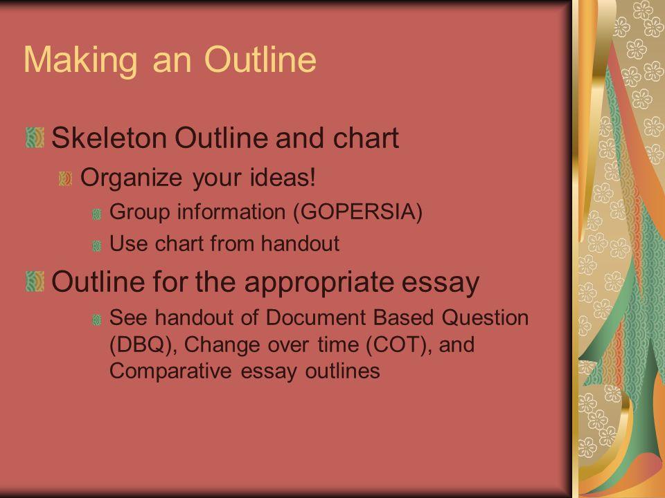 Purdue OWL: Essays for Exams