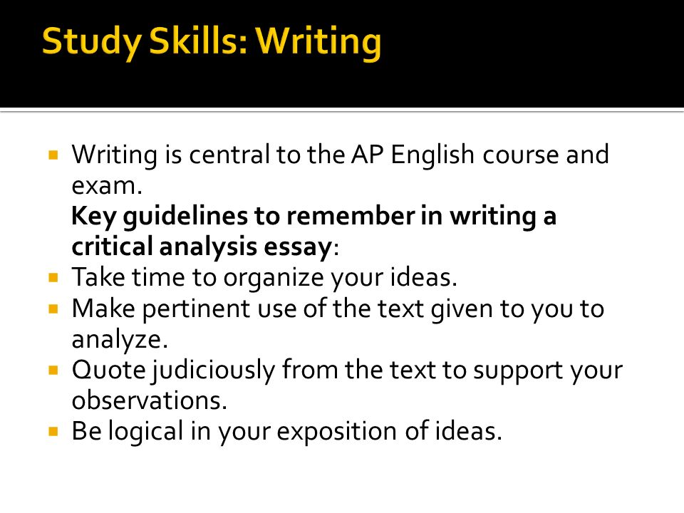 ap central english language synthesis essay