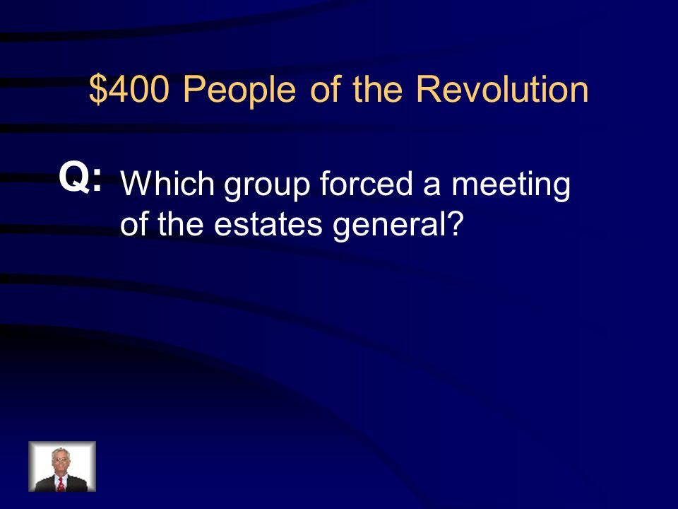 $300 People of the Revolution R: Sans- Culottes