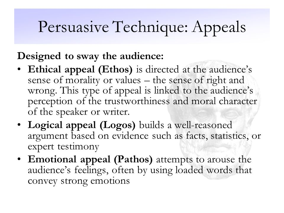 Types Of Persuasive Essay