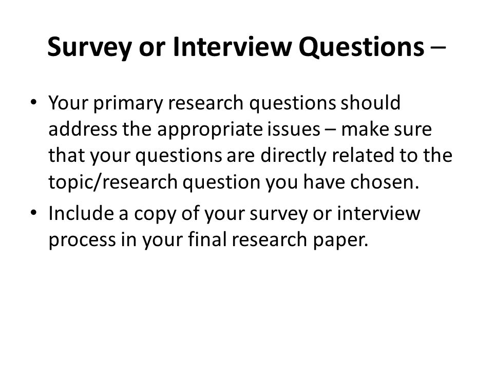 "chosing a good research paper questions Hopefully a good starting point) second, one can look at recent surveys of the literature or recent working papers directly on the topic as coming close to providing a ""sufficient."