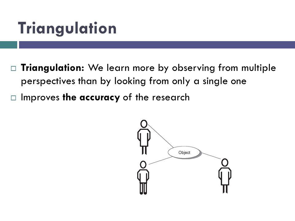 qualitative case study triangulation