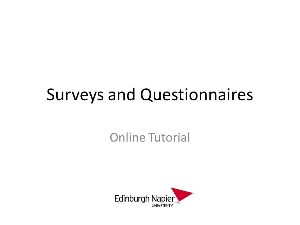 surveys and questionnaires online tutorial. what is a survey? a, Presentation templates