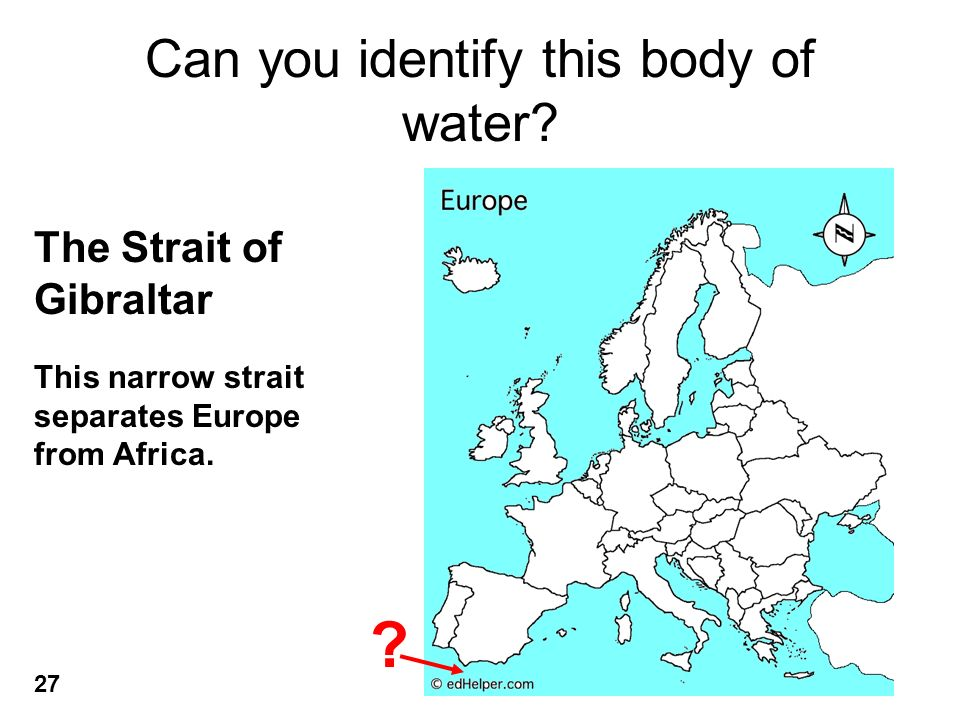 Can you identify this body of water.