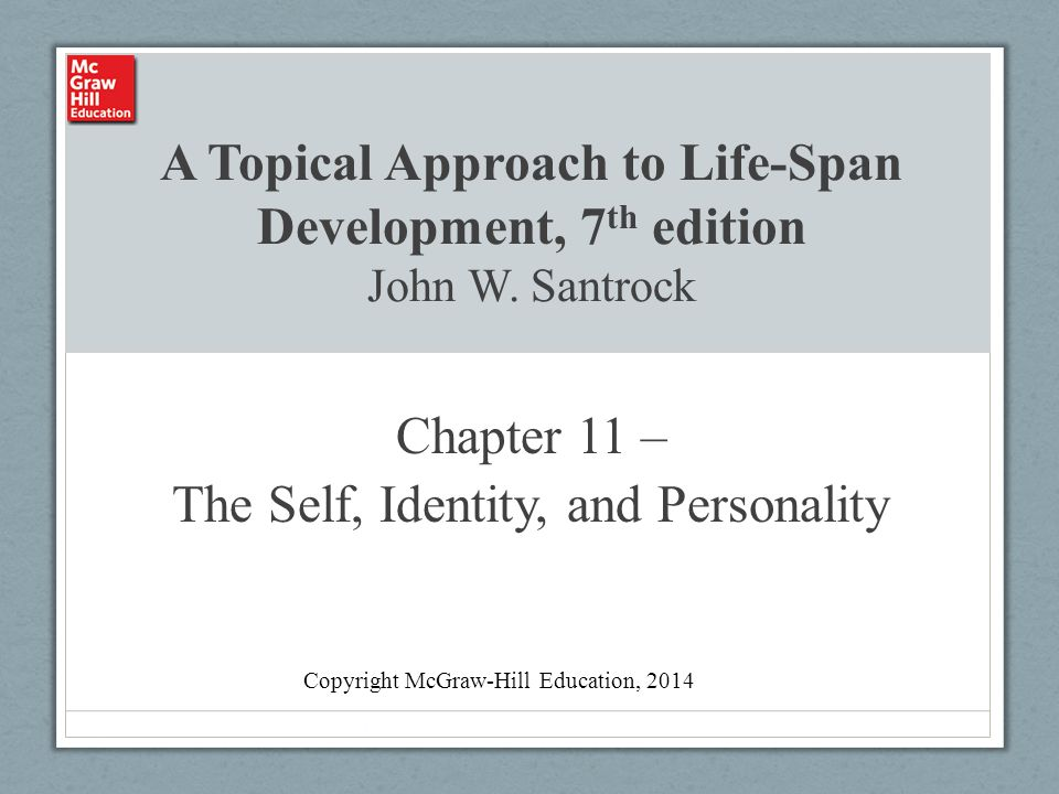 lifespan development personality paper
