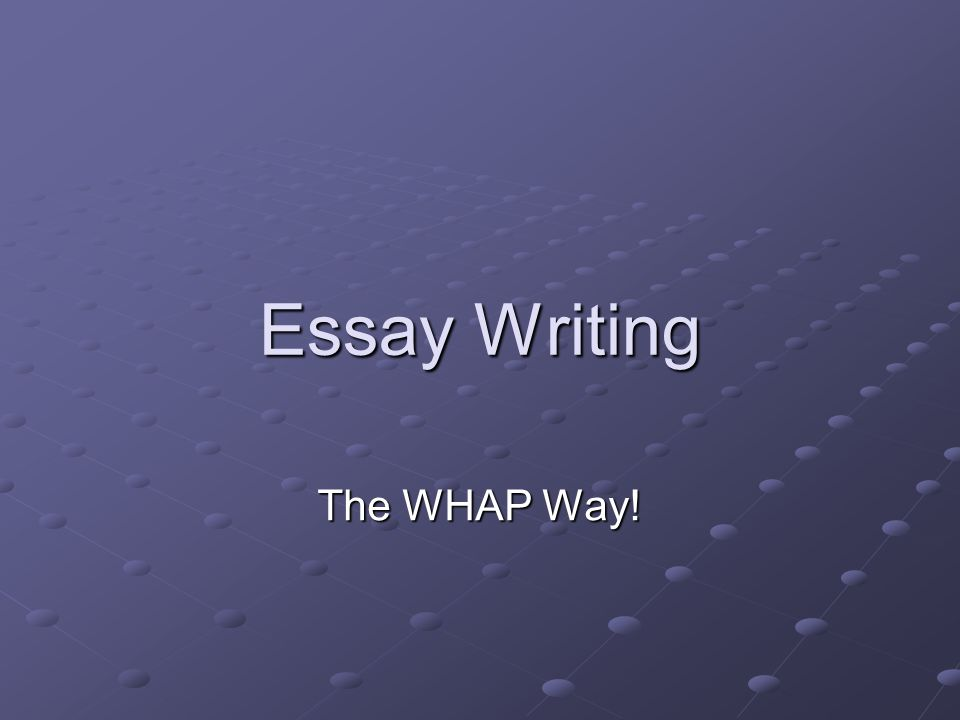 How to address theme in writing essay?
