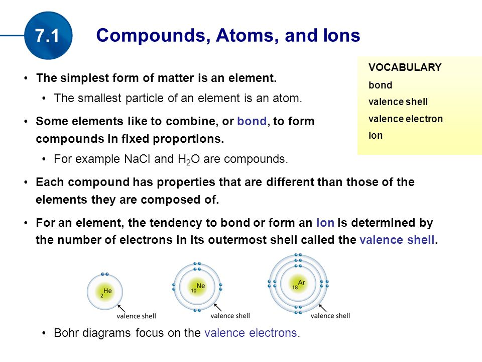 The simplest form of matter is an element. The smallest particle ...