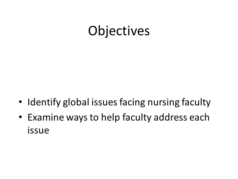 global nursing issues The center for global initiatives promotes innovation, capacity development and advocacy for the advancement of nursing report on the ethical issues.