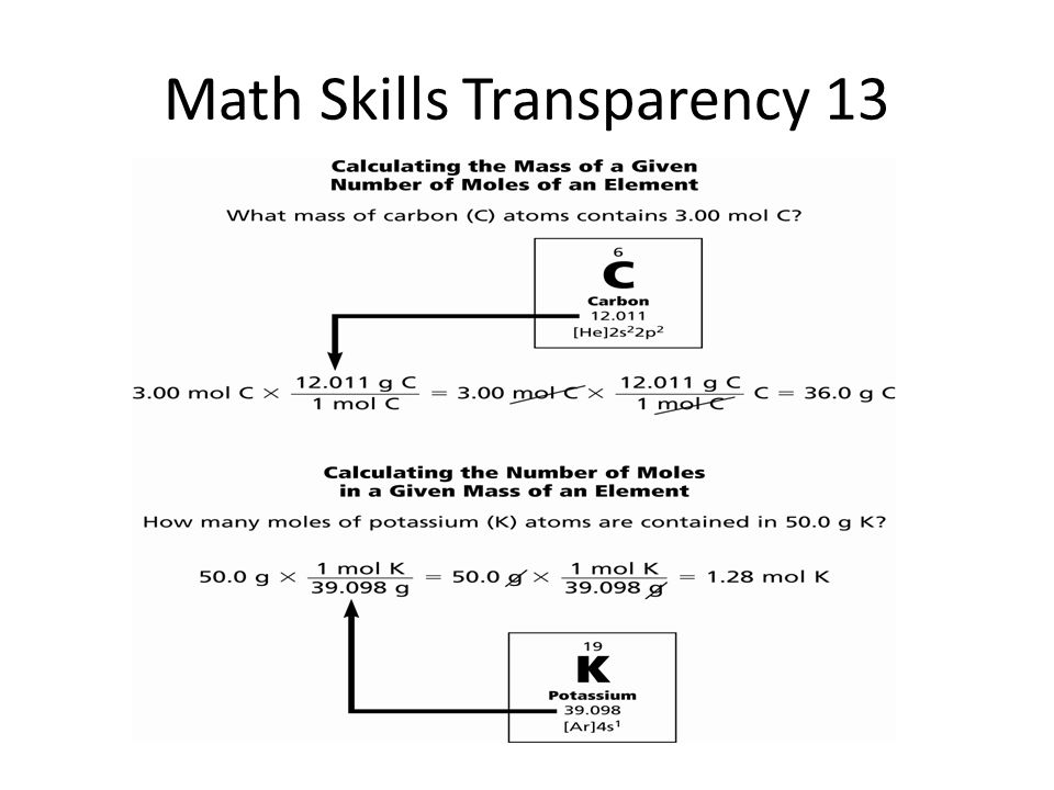 teaching transparency worksheet answers chapter 6 Teaching – Math in Chemistry Worksheet