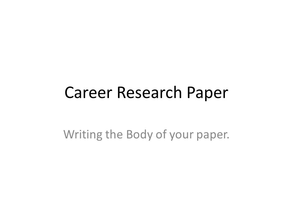Writing the introduction of a research paper ppt Imhoff Custom Services