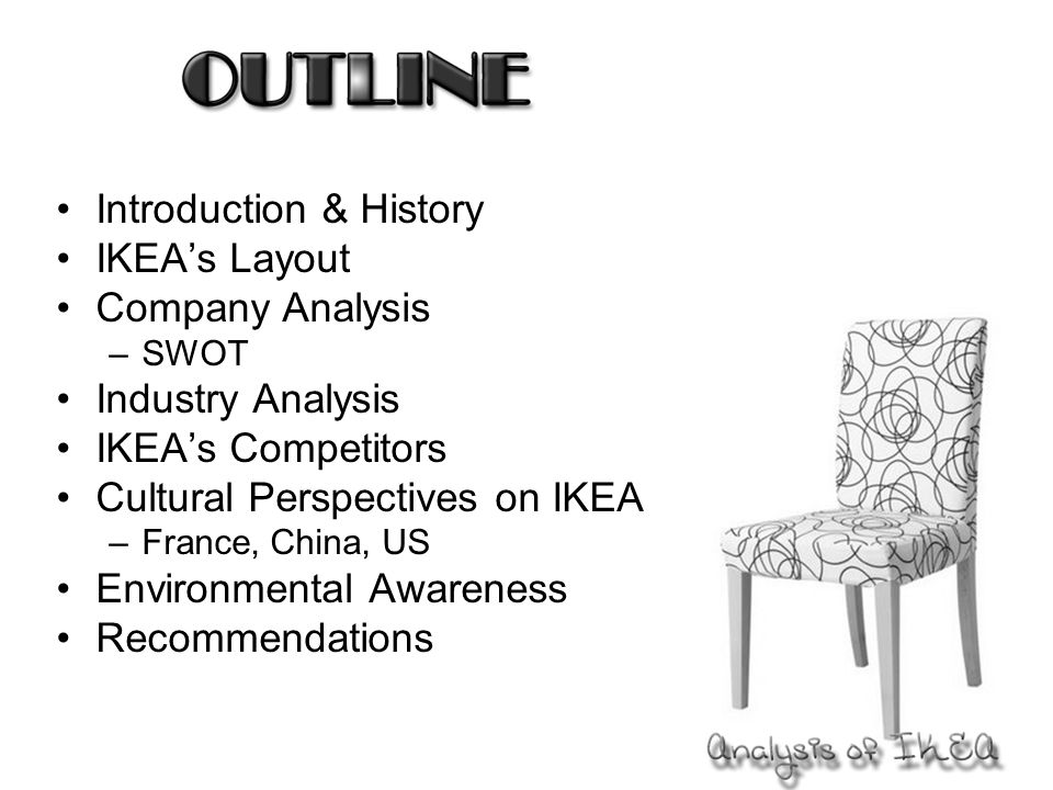 Introduction  History IkeaS Layout Company Analysis Swot