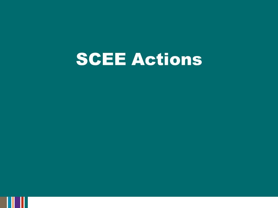 SCEE Actions