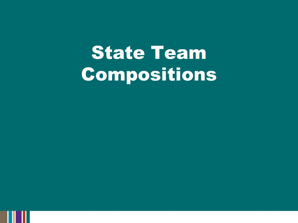 State Team Compositions