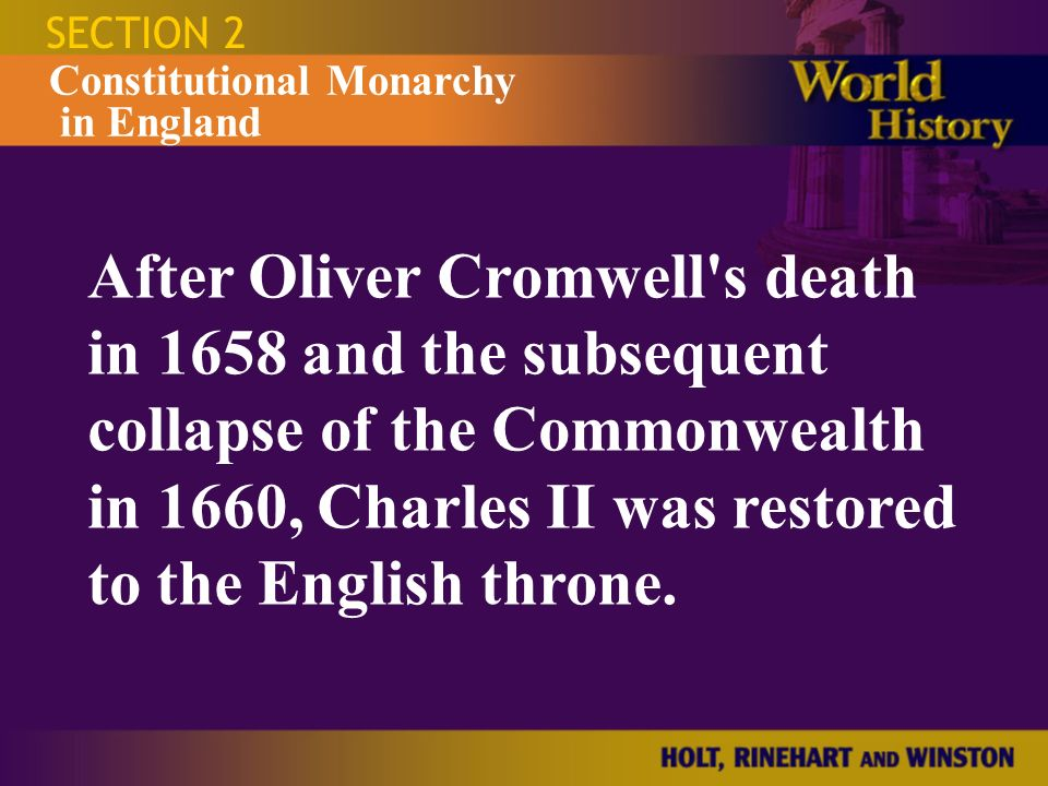 How did the Commonwealth of England collapse?