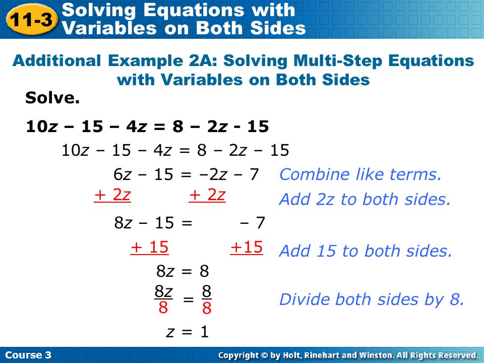 Solving Equations With Variables On Both Sides Worksheet Answers 2 – Solve Equations with Variables on Both Sides Worksheet