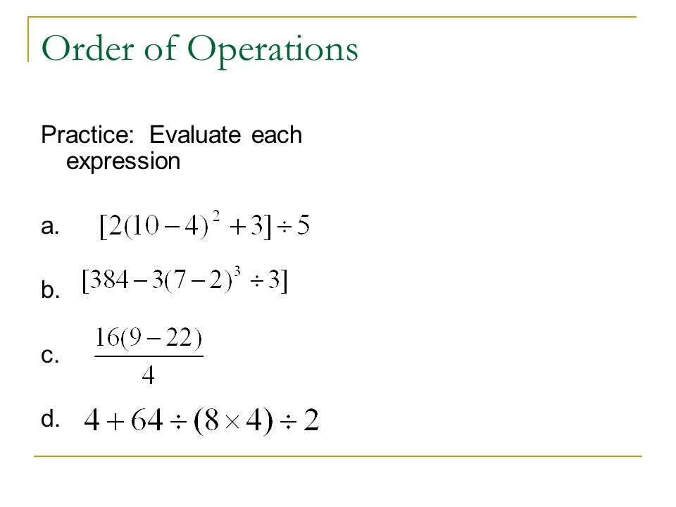 Printables Algebra Review Worksheet order of operations evaluate each expression worksheet intrepidpath algebra 2 review 1 expressions and formulas worksheets for kids
