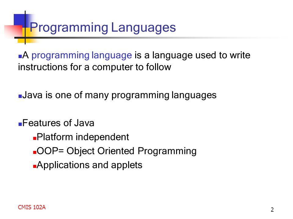 Programming Language Used to Write?