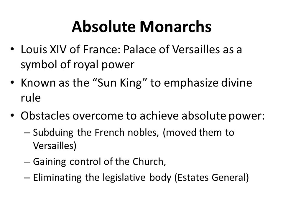 louis xiv essay Read this history other essay and over 88,000 other research documents absolutism and louis xiv an absolute monarch is a ruler by divine right who has control over every portion of his kingdom.