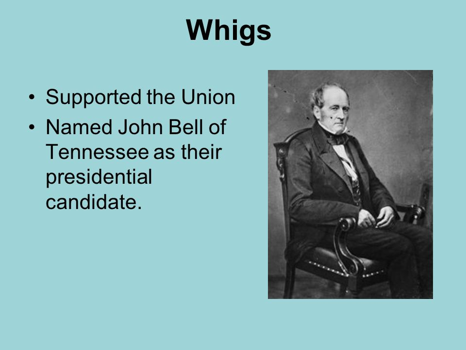 why did support for the whigs The whigs positioned harrison as a symbol of the common man tyler made a brief attempt to run as a third-party candidate before dropping out due to lack of support.
