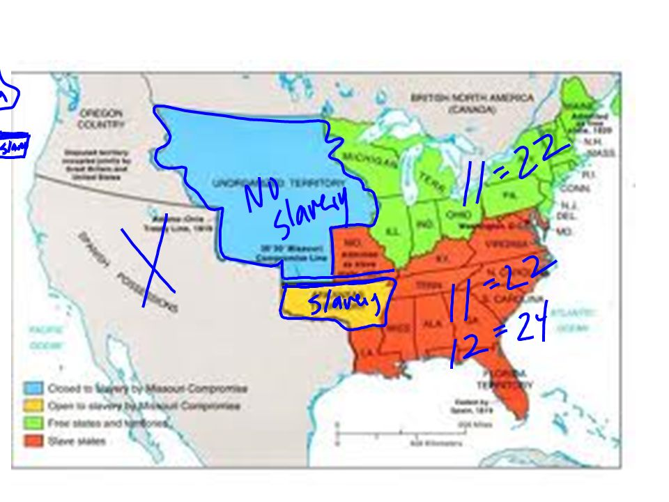 ROAD TO CIVIL WAR MISSOURI COMPROMISE WHAT WAS THE CONCERN ABOUT – Missouri Compromise Worksheet