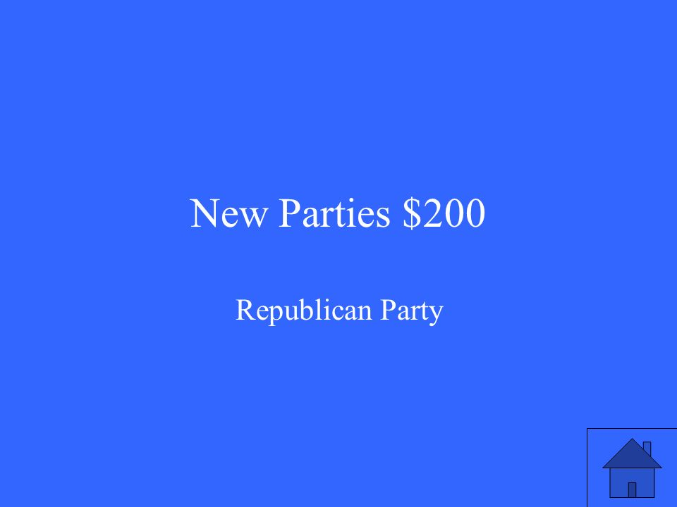 New Parties $200 Republican Party