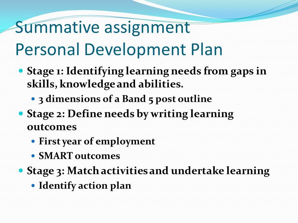 Personal development assignment