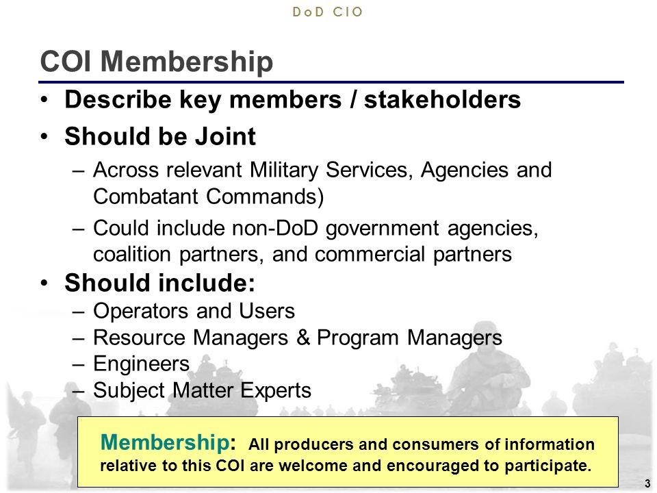 9/11/ support the warfighter dod cio 1 sample template community, Presentation templates