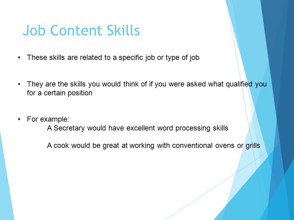type of skills