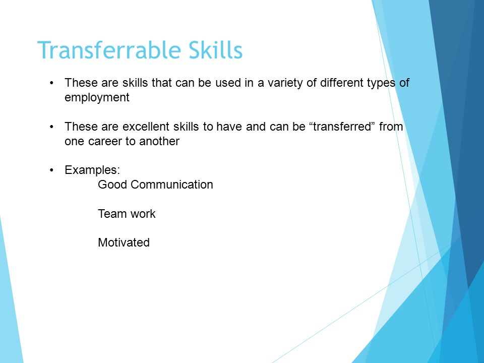 good skills to have