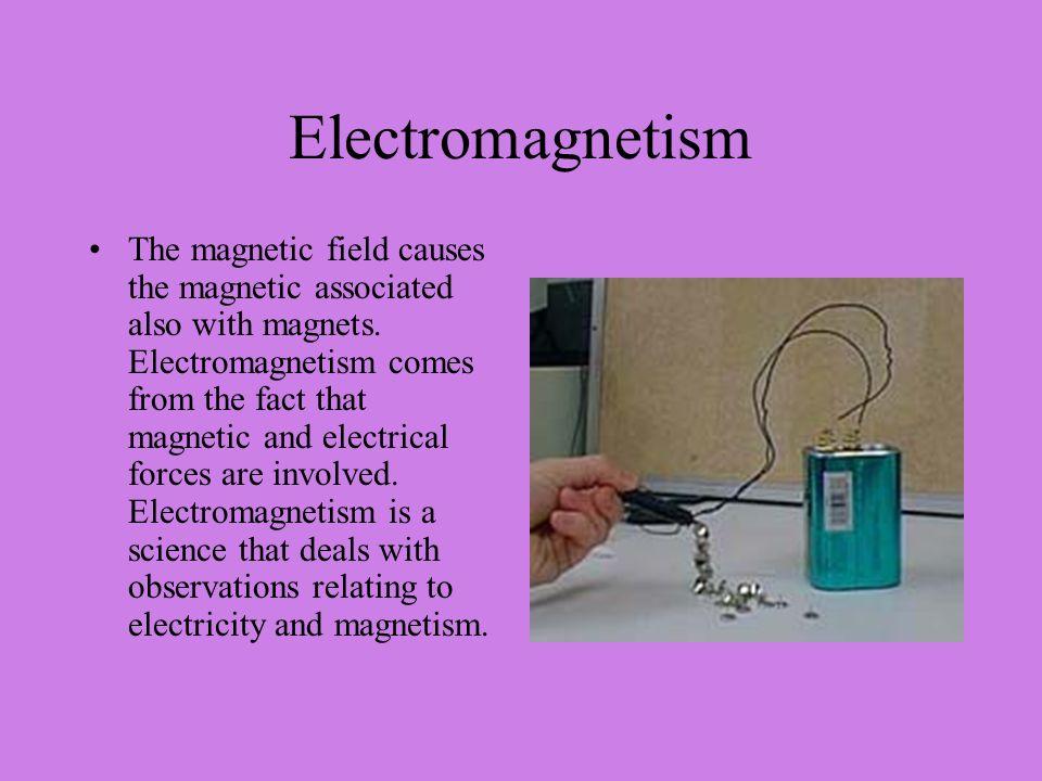 Electromagnetism Shana Simmons Physics Per.6. Electromagnetism ...