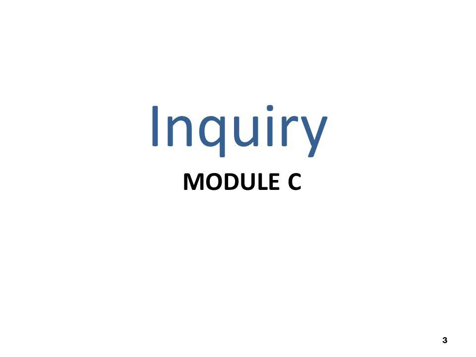 MODULE C Inquiry 3