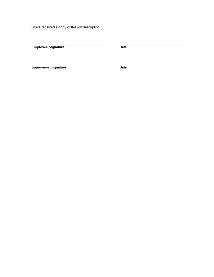 n health board of minneapolis job description health 3 i have received a copy of this job description employee signaturedate supervisor signaturedate