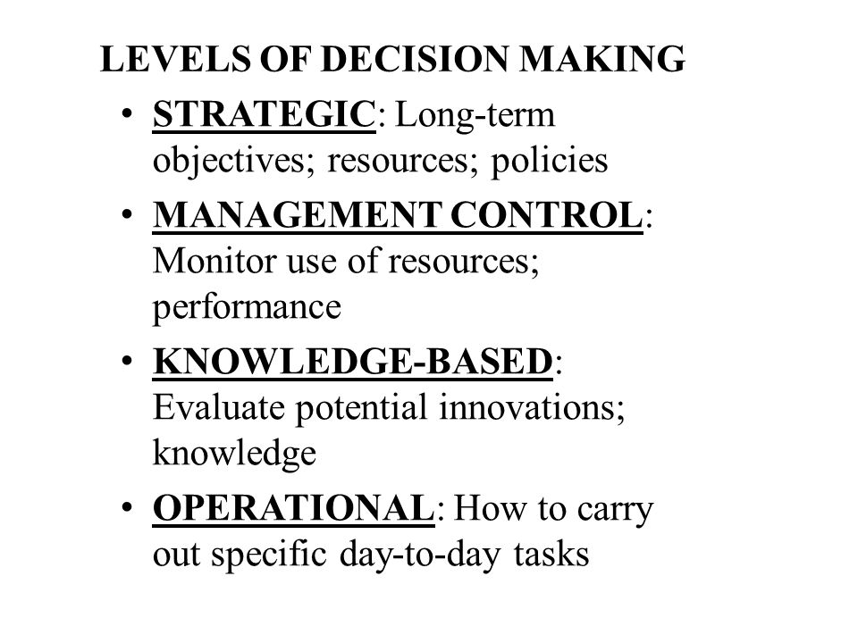 Problem Solving Decision Making Model - Nursing Nursing Specific
