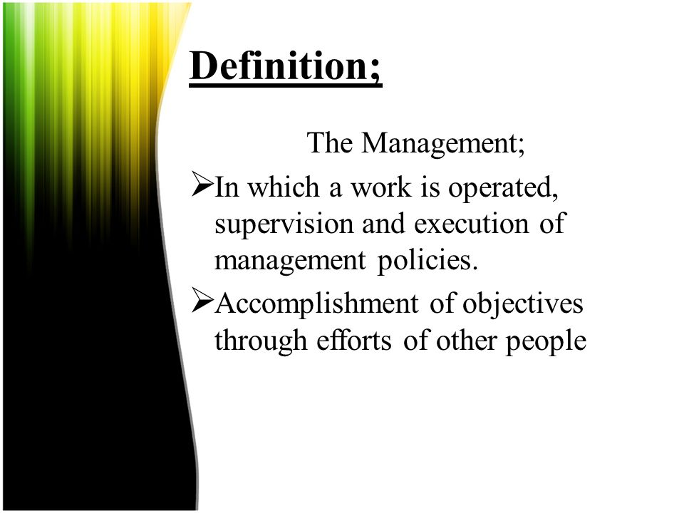 Introduction; Management are essential to any organization, manager function are vital, complex, and frequent difficult.