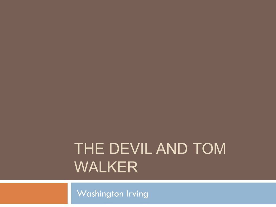 thesis of the devil in massachusetts
