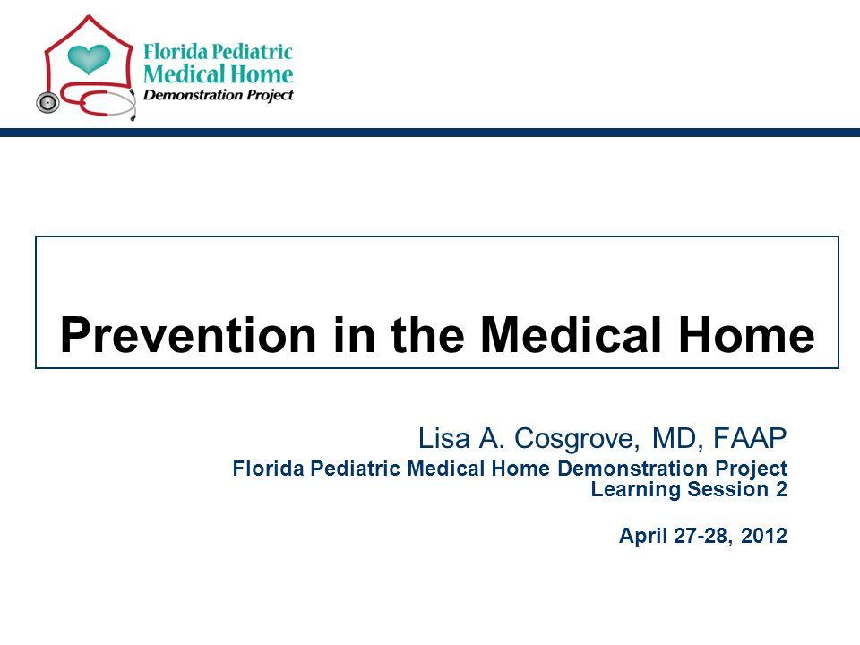 Medical home model florida