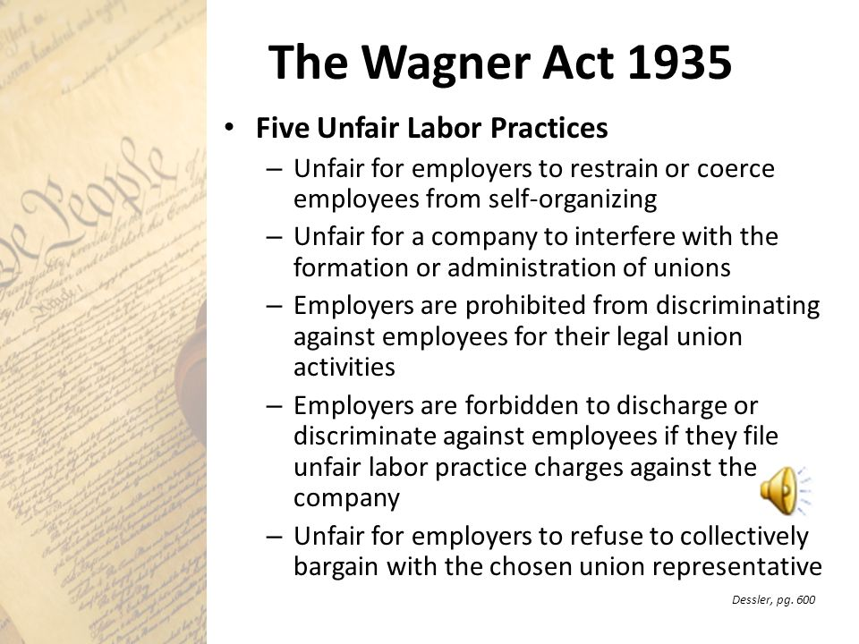 the wagner act essay Free essays on alien sedition act use our research documents to help you learn 76 - 100 the wagner act in 1934, the wagner act was first introduced.