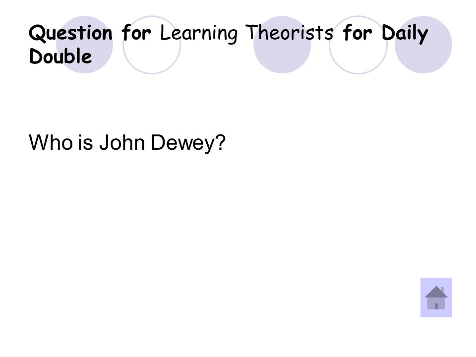 Answer for Learning Theorists for Daily Double Question.