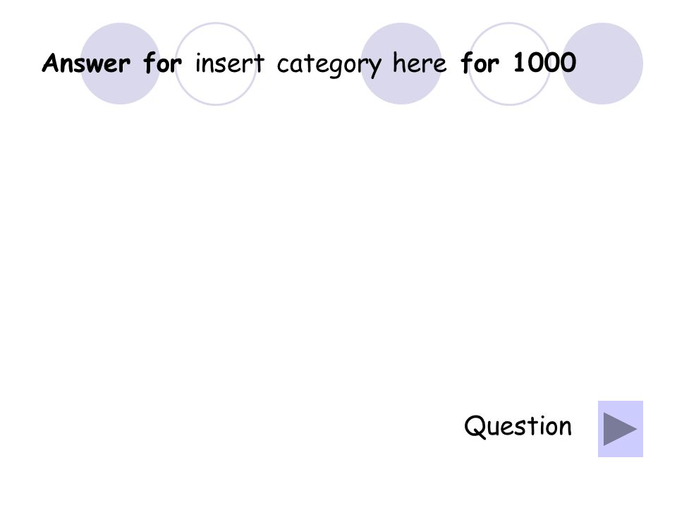 Question for insert category here for 800
