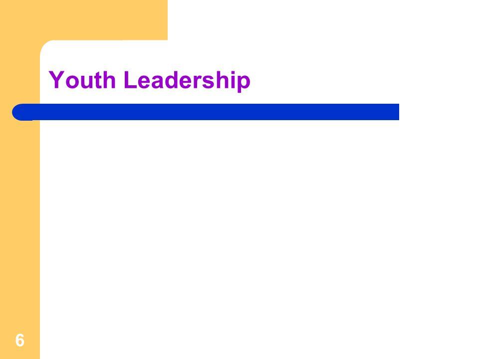 6 Youth Leadership