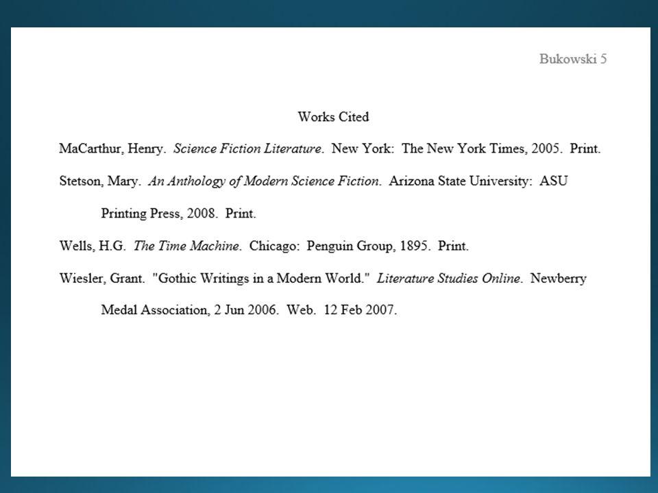 mla format group paper