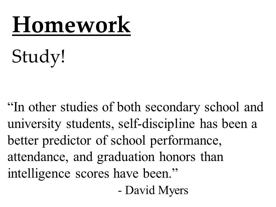 Homework Study.