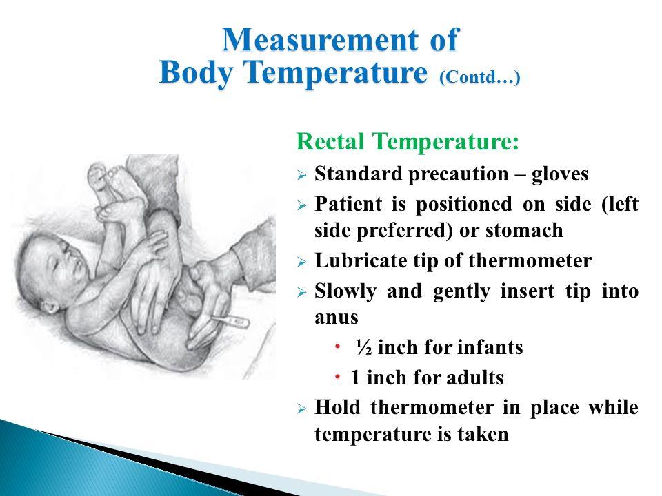 Temperature Of Anus